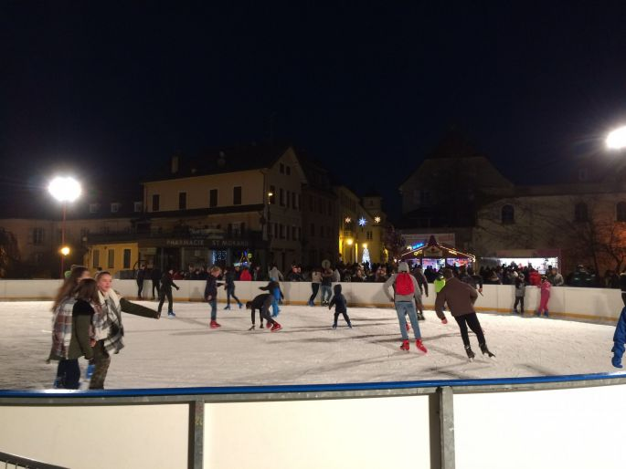 Noël à Altkirch : Patinoire de plein-air
