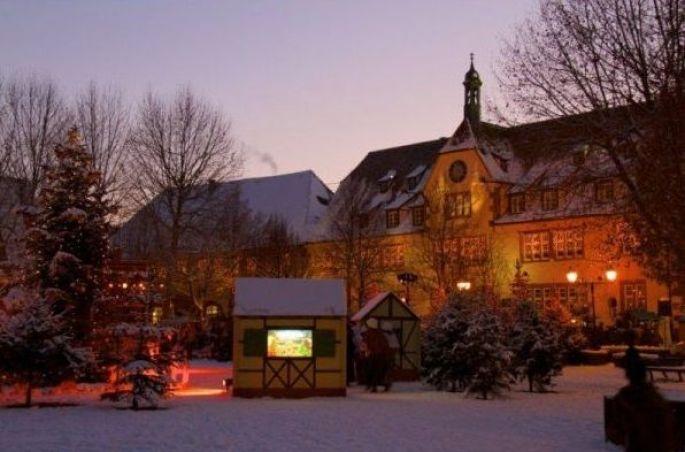 Le marché de Noël de Bouxwiller (Bas-Rhin) et ses illuminations