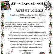 Noël 2018 à Burnhaupt-le-Haut : Marché de Noël