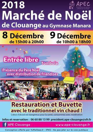 Noël 2018 à Clouange : Marché de Noël