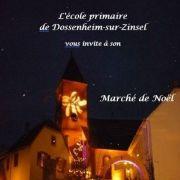 Noël 2018 à Dossenheim-sur-Zinsel : Marché de Noël