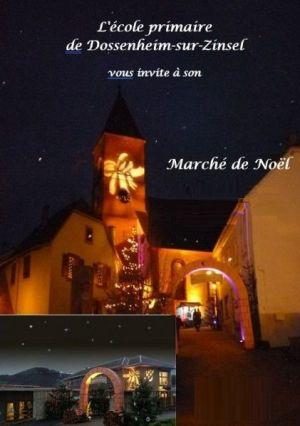 Noël à Dossenheim-sur-Zinsel : Marché de Noël