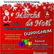 Noël 2018 à Duppigheim : Marché de Noël