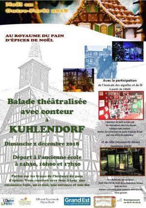 Noël 2018 à Kuhlendorf : Marché de Noël et Balade contée
