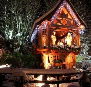 Le circuit des crèches est l\'attraction phare du Marché de Noël à Masevaux