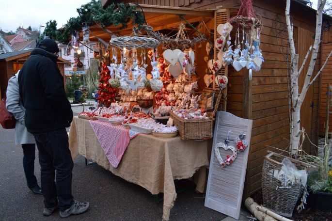 Le Marché de Noël artisanal de Niederbronn