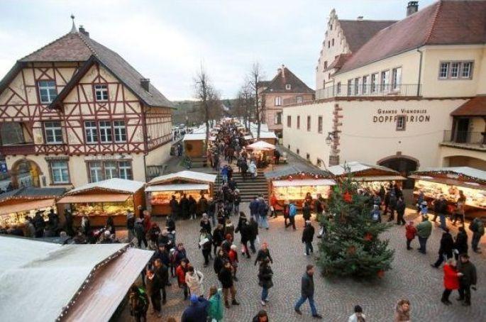 Noël à Riquewihr: Marché de Noël
