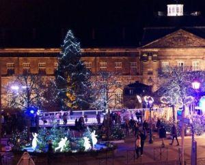 Illuminations, patinoire et sapins : l\'ambiance de la Féérie d\'hiver à Saverne pour Noël