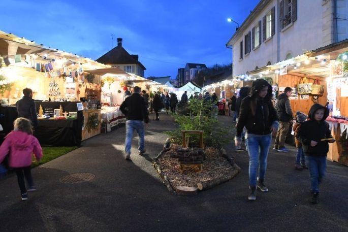Noël à Seppois-le-Bas: Marché de Noël