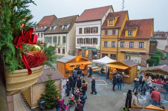 Noël à Soultz: Marché de Noël