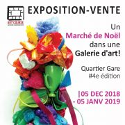 Noël 2018 à Strasbourg : Marché de Noël dans une Galerie d\'Art