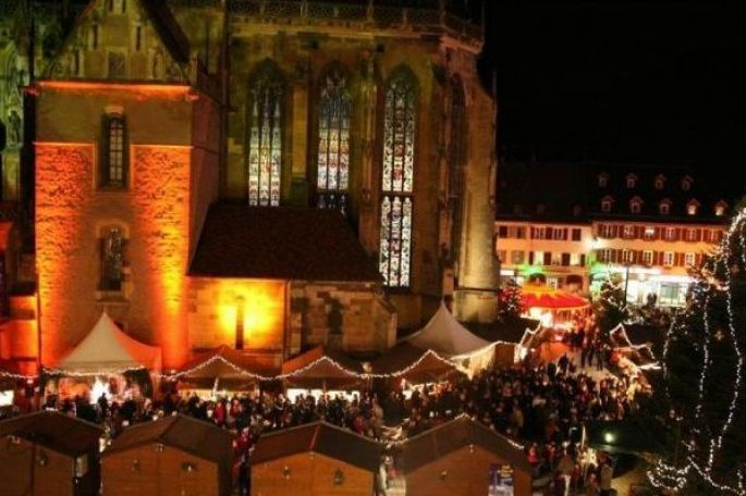 Le traditionnel marché de Noël de Thann