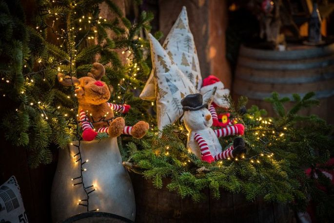 Noël  à Bergheim: Marché de Noël