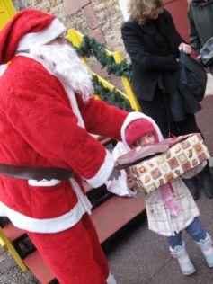 Noël à Colmar : La Boîte aux lettres géantes du Père Noël