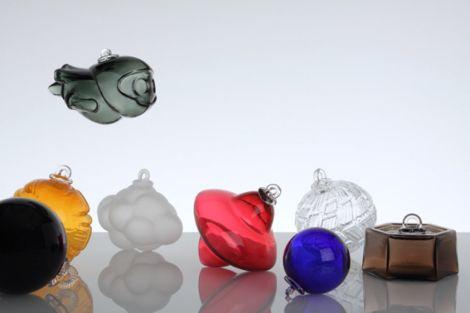 Les boules de Noël de Meisenthal sont proposées à Colmar