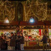 Noël 2019 à Colmar : Marché de Noël de la Place des Dominicains