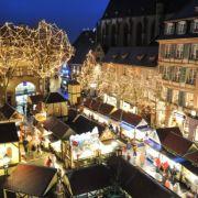 Noël 2019 à Colmar : Marché de Noël de la Place Jeanne d\'Arc
