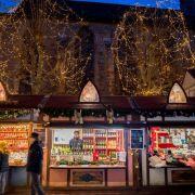 Noël 2019 à Colmar : Marché de Noël Gourmand, Place de la Cathédrale
