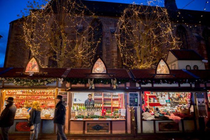 La ville de Colmar et ses marchés de Noël