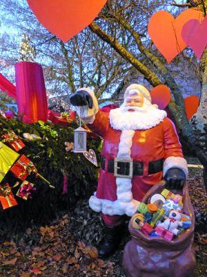 Le Père Noël à Dannemarie