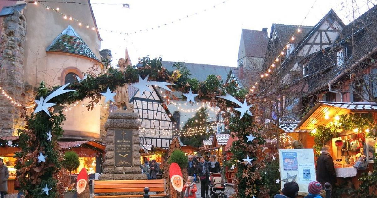 March de no l authentique eguisheim - Marche de noel thann ...