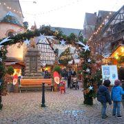 Noël 2019 à Eguisheim : Marché de Noël authentique