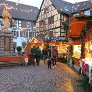 Noël 2018 à Eguisheim : Marché de Noël authentique