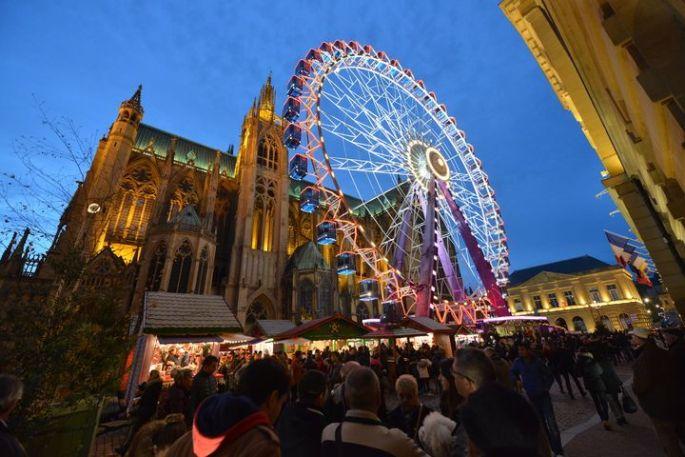 Noël 2017 à Metz : La Grande roue