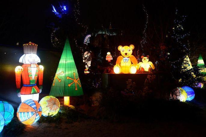 Noël à Metz : Le Sentier des Lanternes