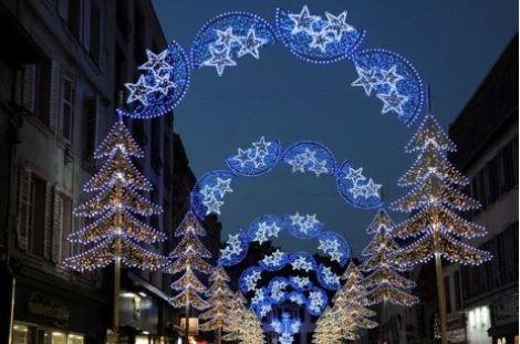 Les illuminations de la rue Clemenceau