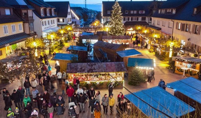 Le Marché de Noël de Neuenburg
