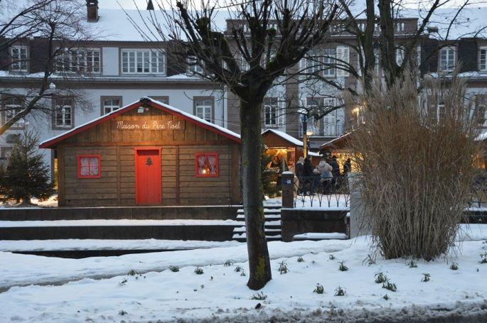 La maison du Père Noël à Niederbronn-les-bains
