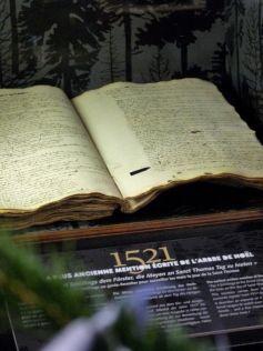 Noël à Sélestat : La plus ancienne mention écrite de l'arbre de Noël
