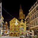 Noël 2017 à Strasbourg : Balade nocturne dans la ville illuminée