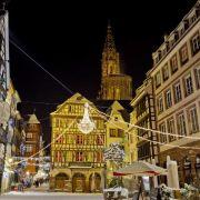 Noël 2019 à Strasbourg : Balade nocturne dans la ville illuminée