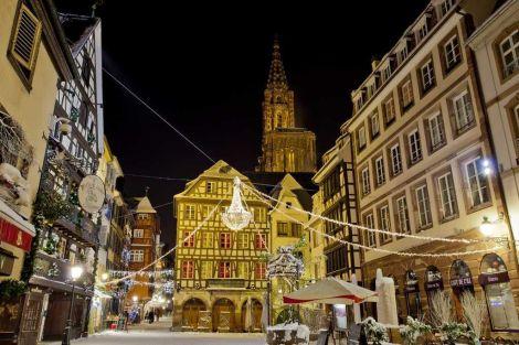 Les illuminations de la plus belle ville de Noël : Strasbourg