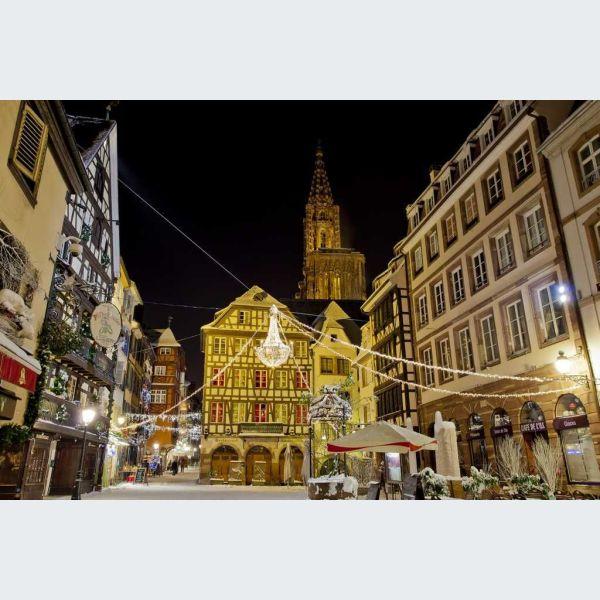 No l 2018 strasbourg balade nocturne dans la ville - Office de tourisme strasbourg marche de noel ...