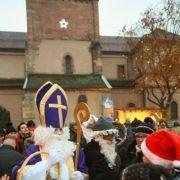 Noël 2018 à Turckheim : Saint Nicolas et Hans Trapp