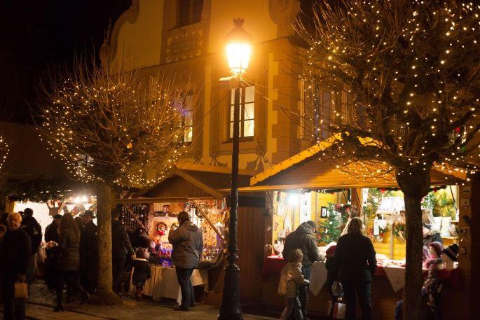 Les stands du Marché de Noël de Wissembourg