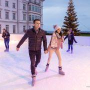 La patinoire de Noël 2020 à Guebwiller