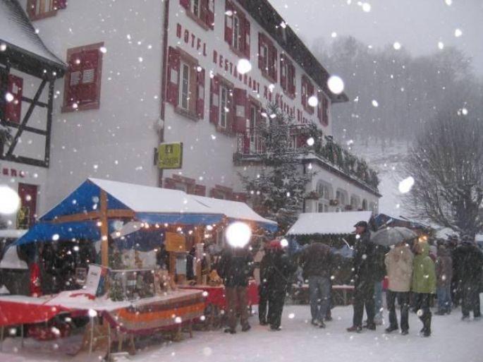 Noël à Niedersteinbach : Marché de Noël