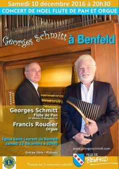 Noëls du Monde : Flûte de pan et orgue