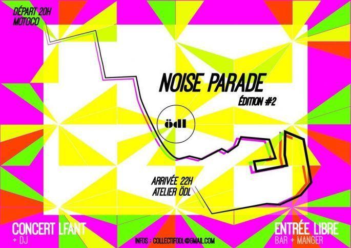 Ambiance carnavalesque à la Noise Parade de Mulhouse