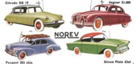 NOREV : 70 ans de petites automobiles et miniatures