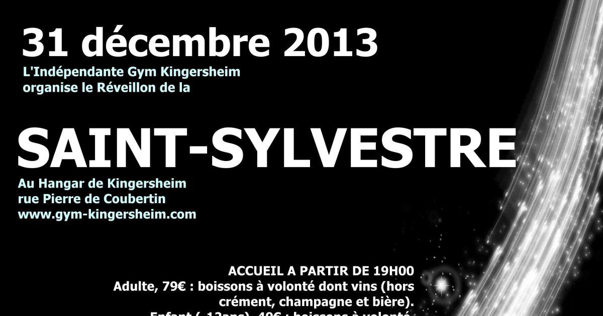 R veillon de la saint sylvestre 2013 2014 au hangar for Idee deco kingersheim