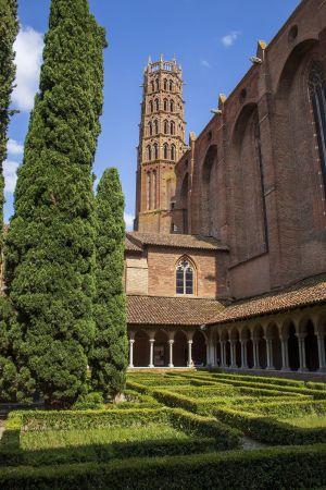 Le couvent des Jacobins à Toulouse se visite en nocturne pour la Nuit des Musées