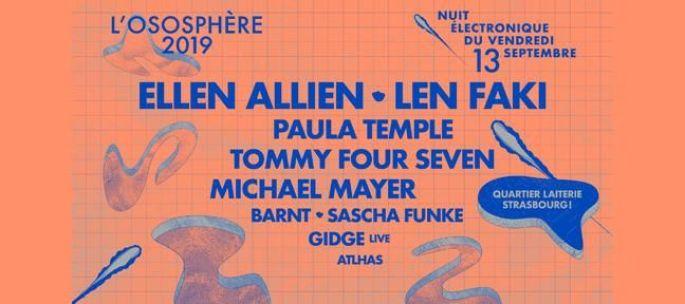 Nuit Electronique du 13 septembre 2019