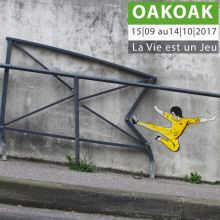 La vie est un jeu / OAKOAK - Street art