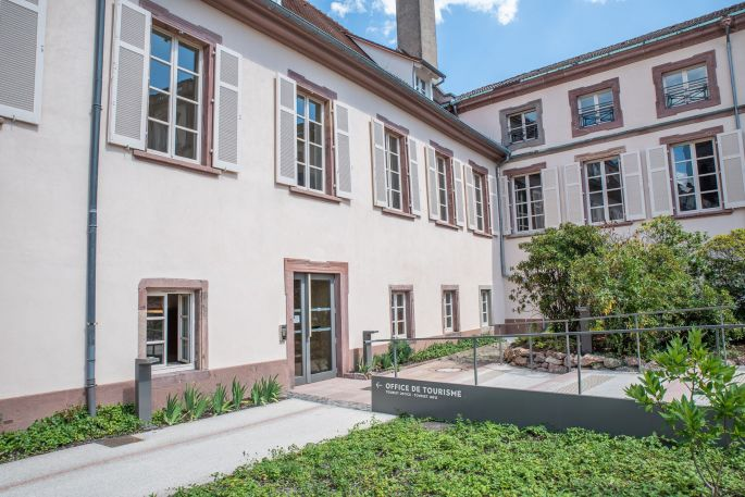Office de tourisme de Guebwiller et sa région au Château de la Neuenbourg