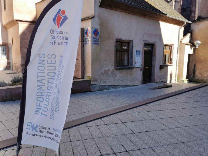 L\'équipe de Sélestat Haut-Koenigsbourg Tourisme vous attendent pour vous renseigner
